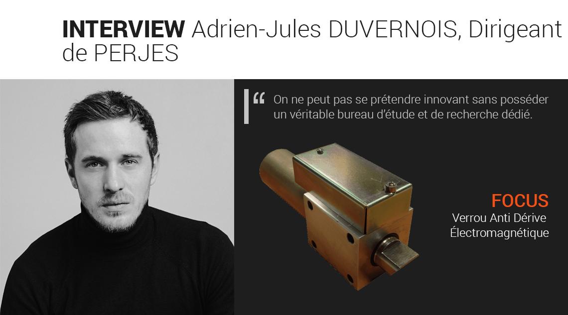 Interview avec Adrien-Jules DUVERNOIS